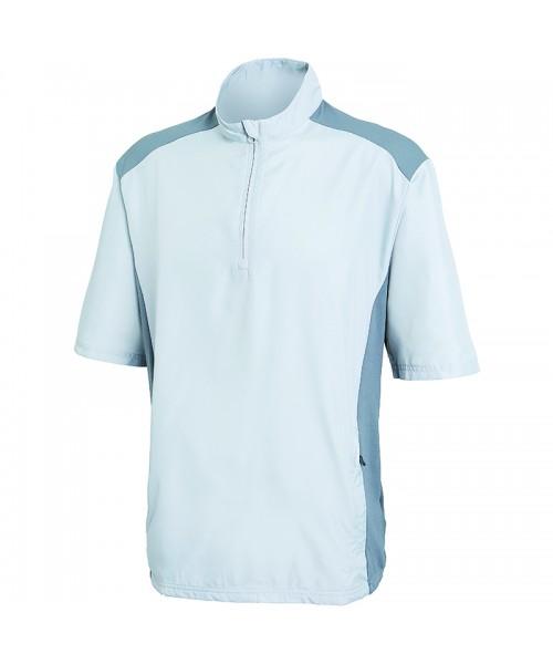 Plain Club wind short sleeve jacket Adidas Main body/sleeves: 93gsm. Shoulders/side panel: 130 GSM