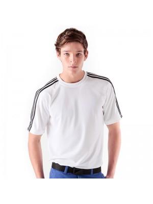 Pique crew neck sporting t-shirt