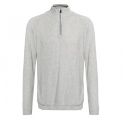 Plain State - Honeycomb front jumper with zip detail AFFORDABLE FASHION