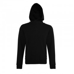 Plain Deancross - Cowel hooded sweatshirt with zip details AFFORDABLE FASHION 280 GSM