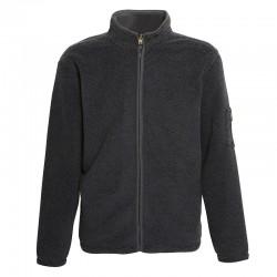 Plain Hamish - Jacquard jacket with bonded microfleece AFFORDABLE FASHION 400 GSM