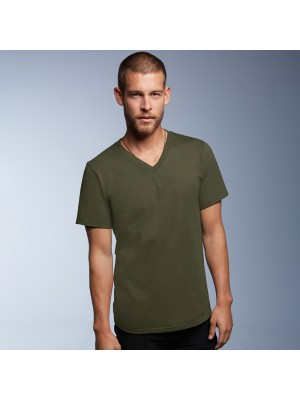 Anvil v-neck tshirt 150gsm