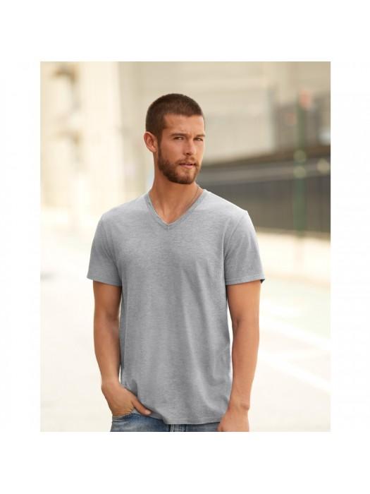 Anvil tri-blend v-neck tshirt