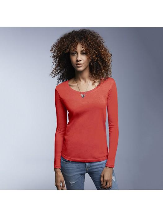 Anvil women's cut long sleeve tshirt