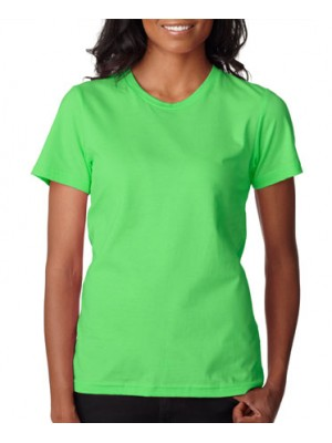 Anvil Women's Neon Green Fashion Classic TShirt
