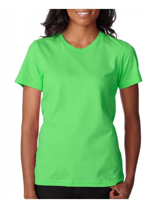 Anvil Women's Neon Green Fashion Classic TShirt
