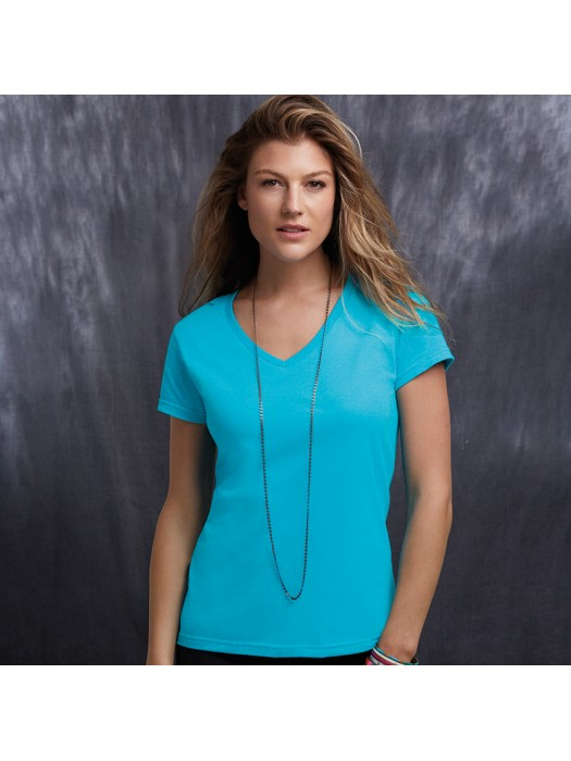 Anvil women's fashion classic v-neck tshirt