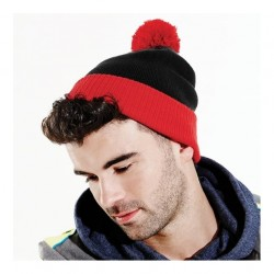 Two-Tone Beanie Snowstar Duo Beechfield Headwear