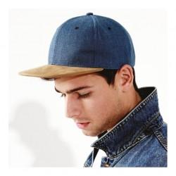 Snapback Suede peak Beechfield Headwear