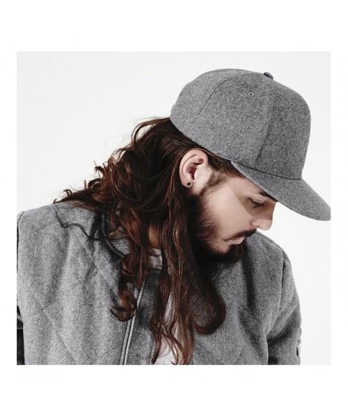Snapback Melton wool Beechfield Headwear