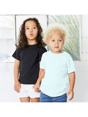 Plain TODDLER CREW NECK T-SHIRT CANVAS 145 GSM