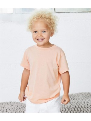 Plain TODDLER TRI-BLEND T-SHIRT CANVAS 130 GSM