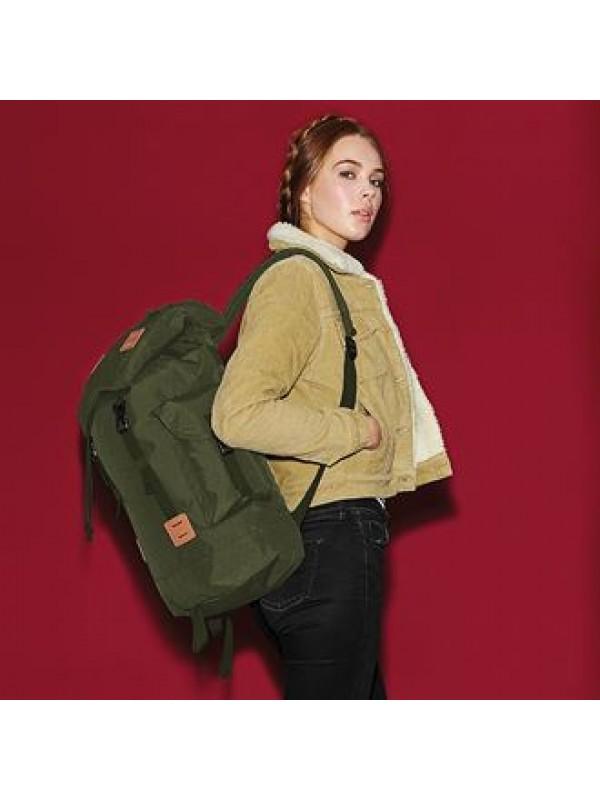 Bagbase Heritage Laptop Backpack Burgundy O//s