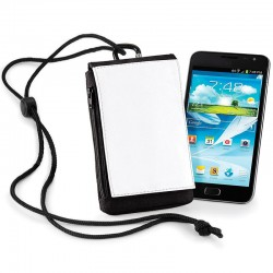 Plain Sublimation phone pouch XL BAG BASE 63 GSM