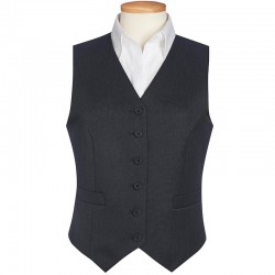 Plain Womens Omega Waistcoat jacket BROOK TAVERNER