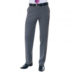 Plain Avalino Flat Front Trouser BROOK TAVERNER 270 GSM