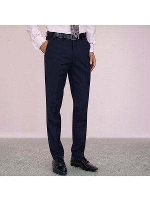 Plain Cassino slim fit trouser BROOK TAVERNER 270 GSM