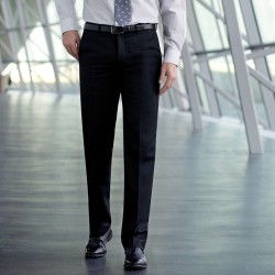 Plain Apollo flat front trouser BROOK TAVERNER