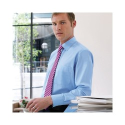 Plain Rapino-Long Sleeve Mens Shirt BROOK TAVERNER 115 GSM