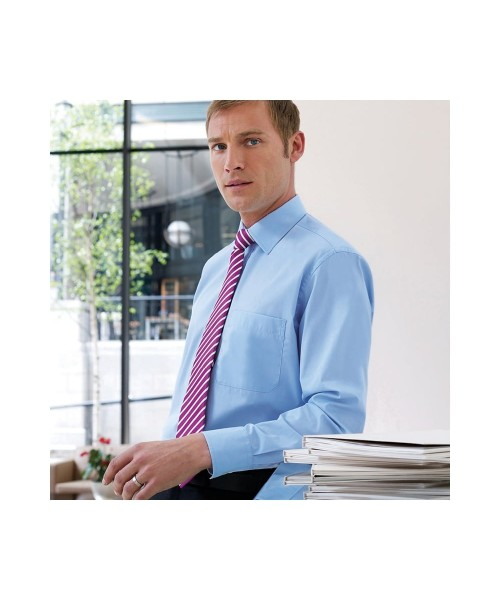 Plain Rapino - Long Sleeve Mens Shirt BROOK TAVERNER 115 GSM