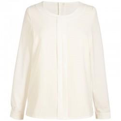 Plain Women's Riola crepe de chine long sleeve blouse BROOK TAVERNER 205 GSM