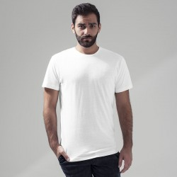 Plain Light t-shirt round-neck Build Your Brand 140 GSM