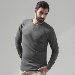 Plain Light crew sweatshirt Build Your Brand 210 GSM
