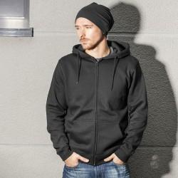 Plain Heavy zip hoody Build Your Brand 320 GSM