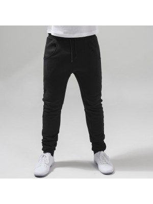 Plain Heavy deep crotch sweatpants Build Your Brand 320 GSM
