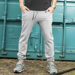 Plain Heavy deep crotch sweatpants Build Your Brand 320 GSM