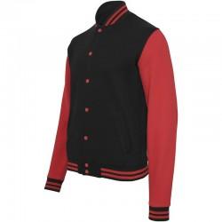 Plain Sweat college jacket Build Your Brand 320 GSM