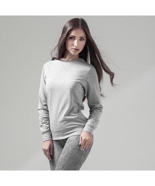 Plain Women's extended shoulder tee Build Your Brand 140 GSM