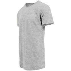 Plain Shaped long tee Build Your Brand 140 GSM