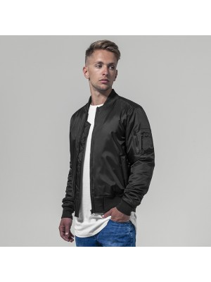 Plain Bomber jacket Build Your Brand 108 GSM