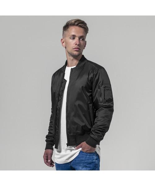 Plain Bomber jacket Build Your Brand 108 GSM