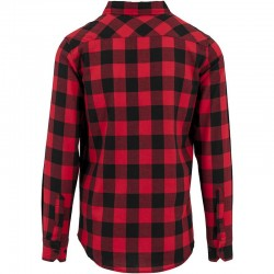 Plain Checked flannel shirt Build Your Brand 120 GSM