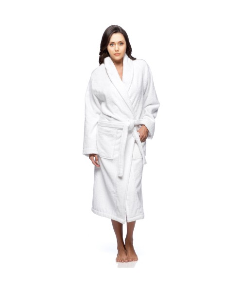 Terry Towelling 100% Cotton Bath Gown 450 GSM