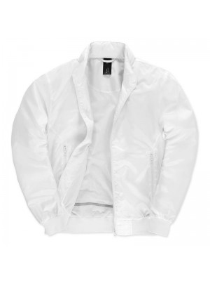 White/ White Linning B&C Trooper Bomber Jacket