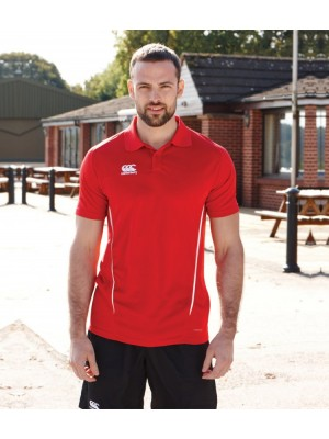 Plain TEAM DRY POLO SHIRT CANTERBURY 140 GSM