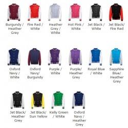 SnS Kids Varsity Jackets in 6 colours Children lettermans