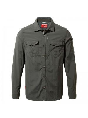 Plain NosiLife adventure long sleeved shirt Craghoppers 110 GSM