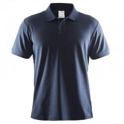 Plain Polo shirt piqué classic Craft 0.291 GSM