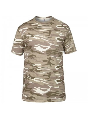 Anvil Heavy Sand Camouflage tee