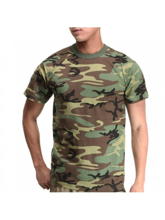 Army Camouflage SnS 100% Soft Cotton 160 gsm T-Shirt
