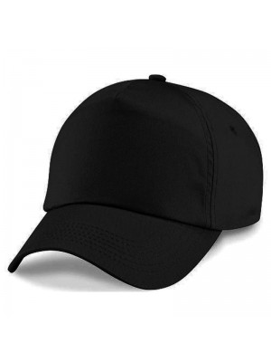Plain Black Baseball Cap, Black Caps