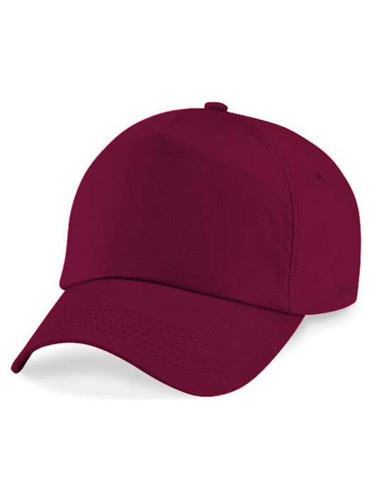 Plain Burgundy Baseball Cap, Burgundy Caps