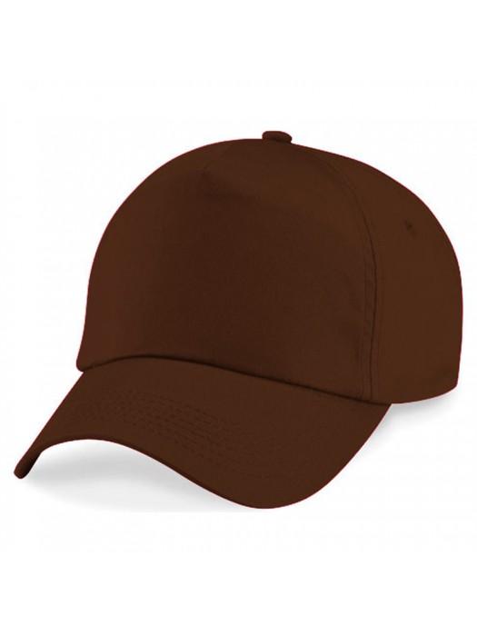 Plain Chocolate Baseball Cap, Chocolate Caps