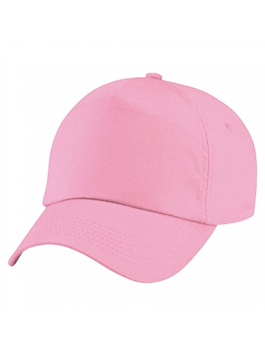 Plain Light Pink Baseball Cap, Light Pink Caps