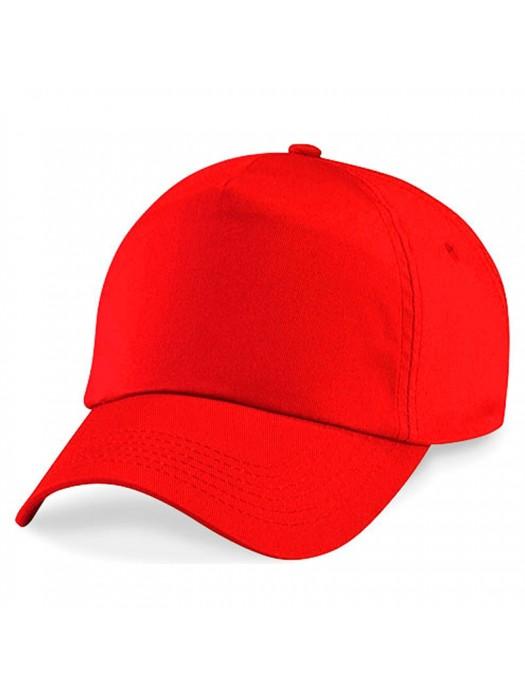 Plain Red Baseball Cap, Red Caps
