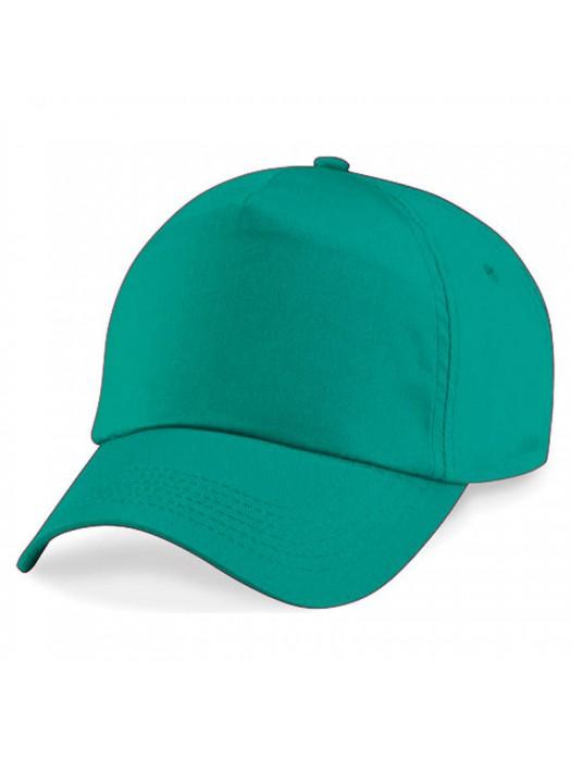 Plain Emerald Baseball Cap, Emerald Caps